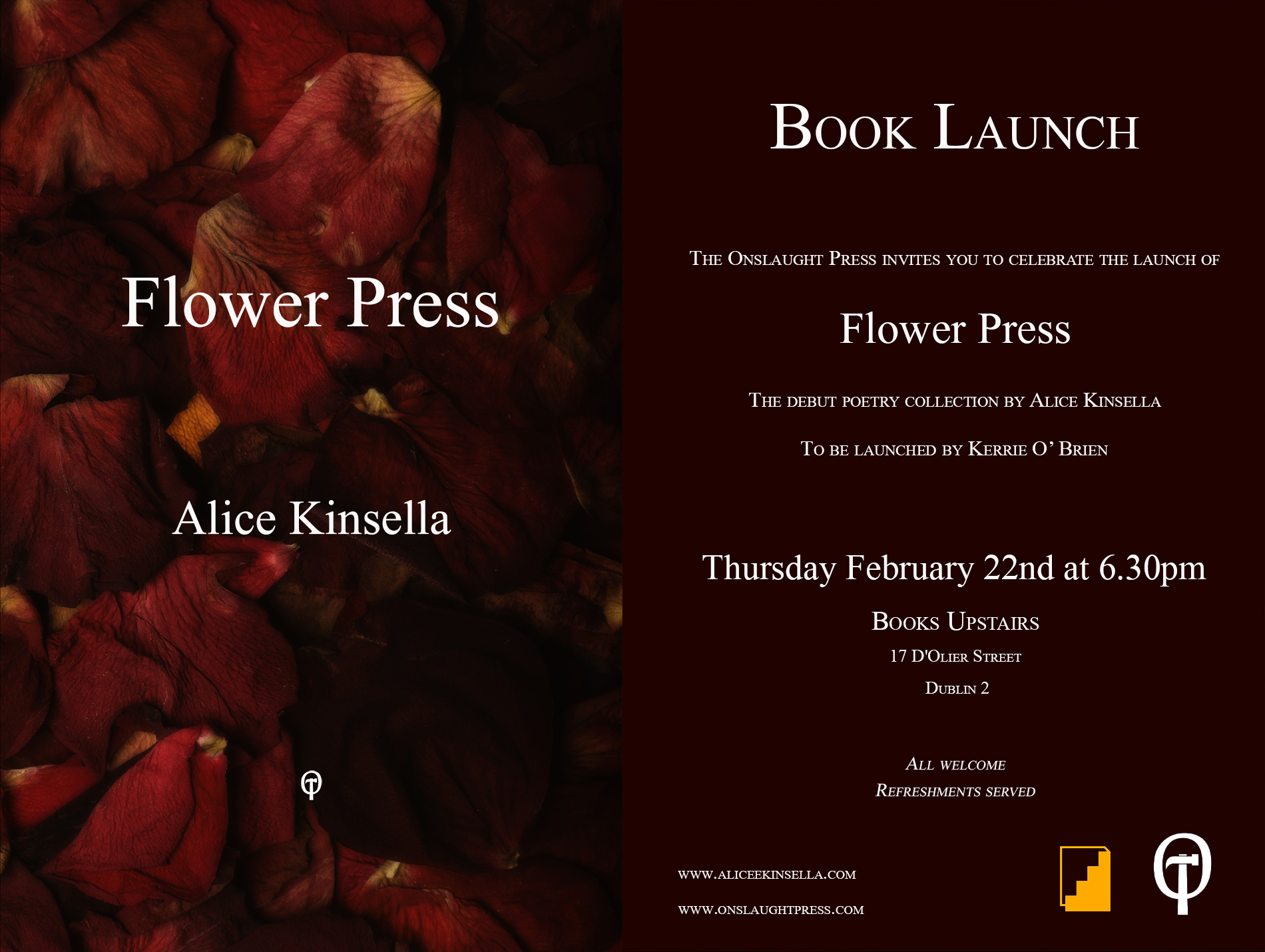 Flower Press Dublin Launch